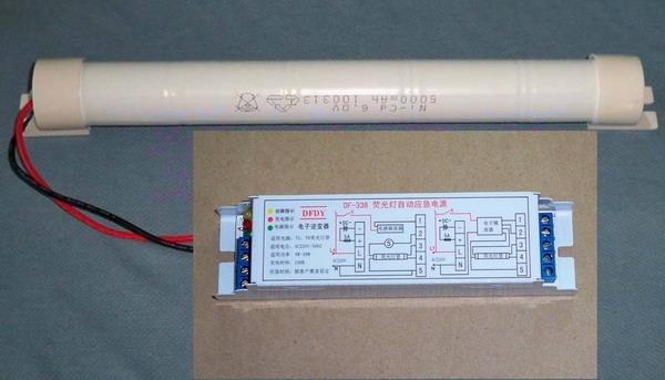 c正常供应时,逆变器使应急照明电池组处于充电备用状态;当遭遇地震