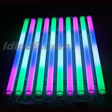 LED七彩内控管 LED洗墙灯LED广告灯模LED灯带