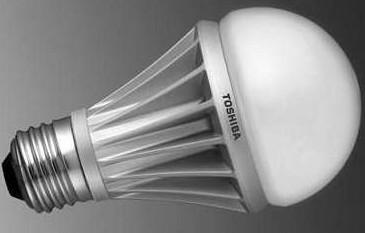 东芝为法国家用电灯龙头厂提供LED灯泡