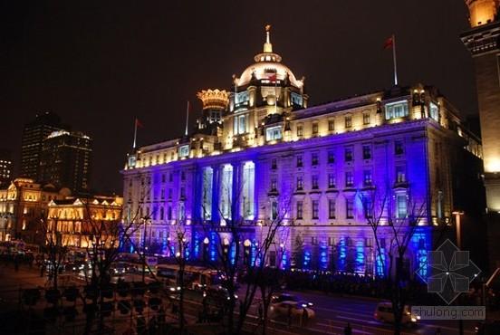 世界 中国 灯光/上海外滩3D灯光秀...